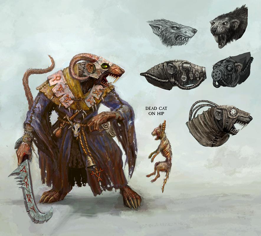 Jackanory's WIP Clan Pestilens skaven, updated 29.11 Skaven7